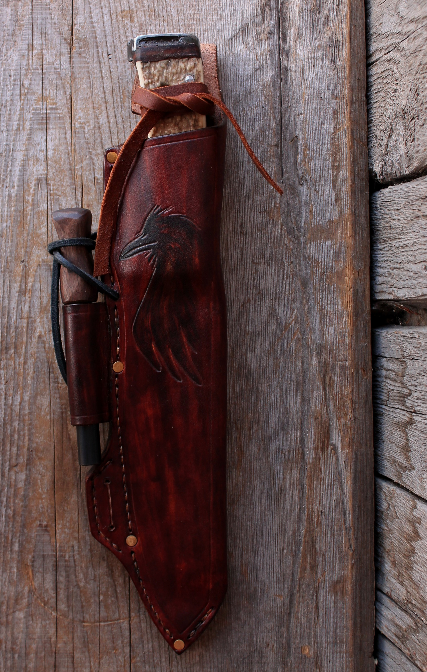 Custom Made Boreal Raven Sheath