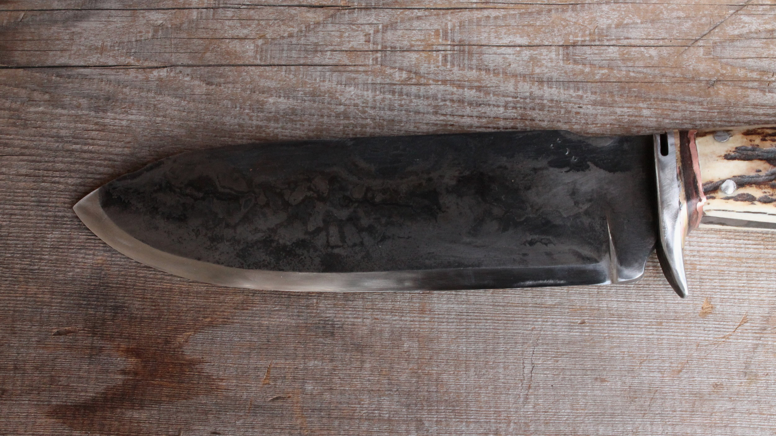 The Face of the Mt Caribou Survival Knife