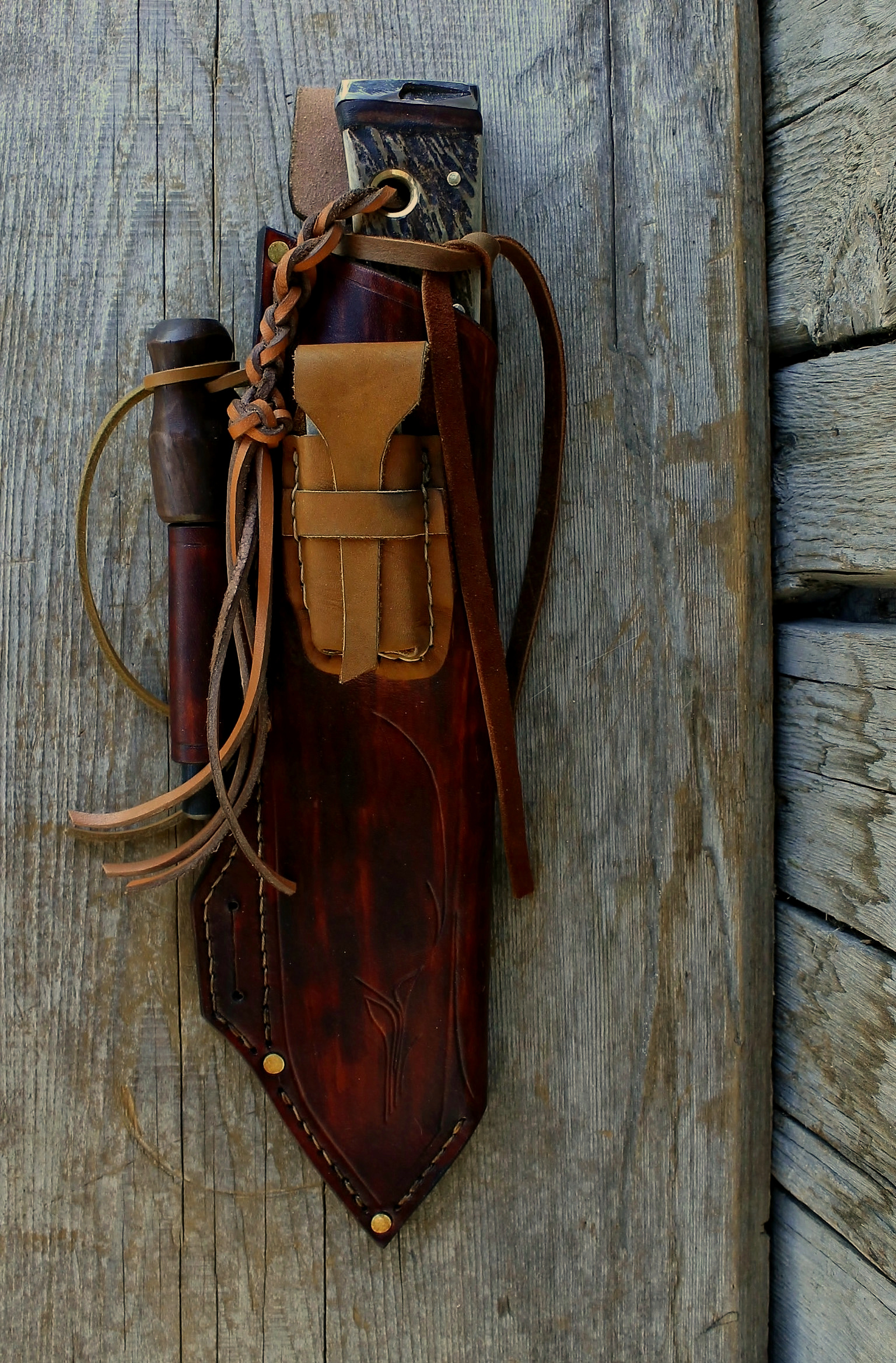 Custom Bushcraft Sheaths