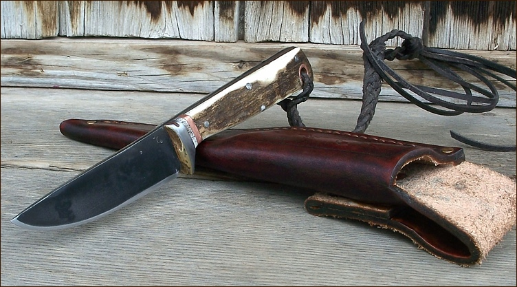 Handforged Hunting Knife