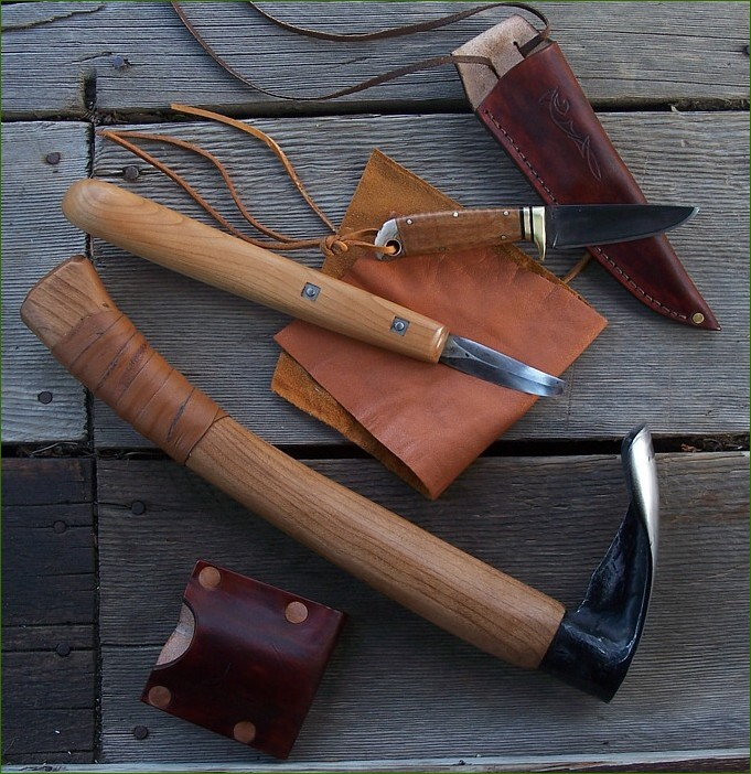 Custom Carving Knives and Tools Set