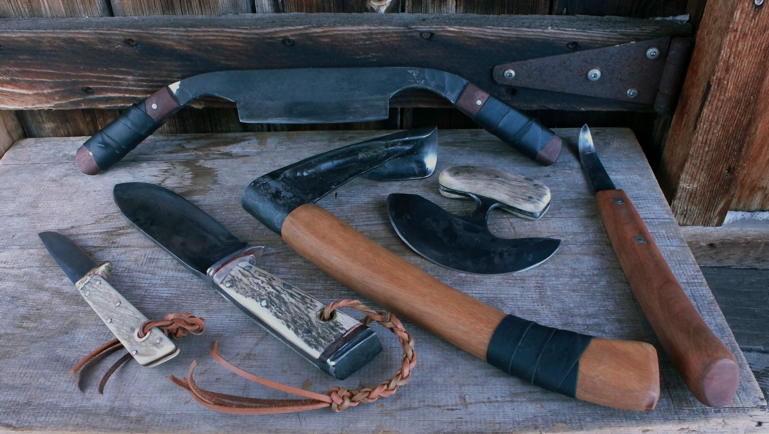 Custom Woodsman Hand Tool Set
