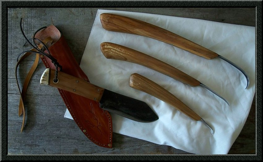Bushcraft carving set