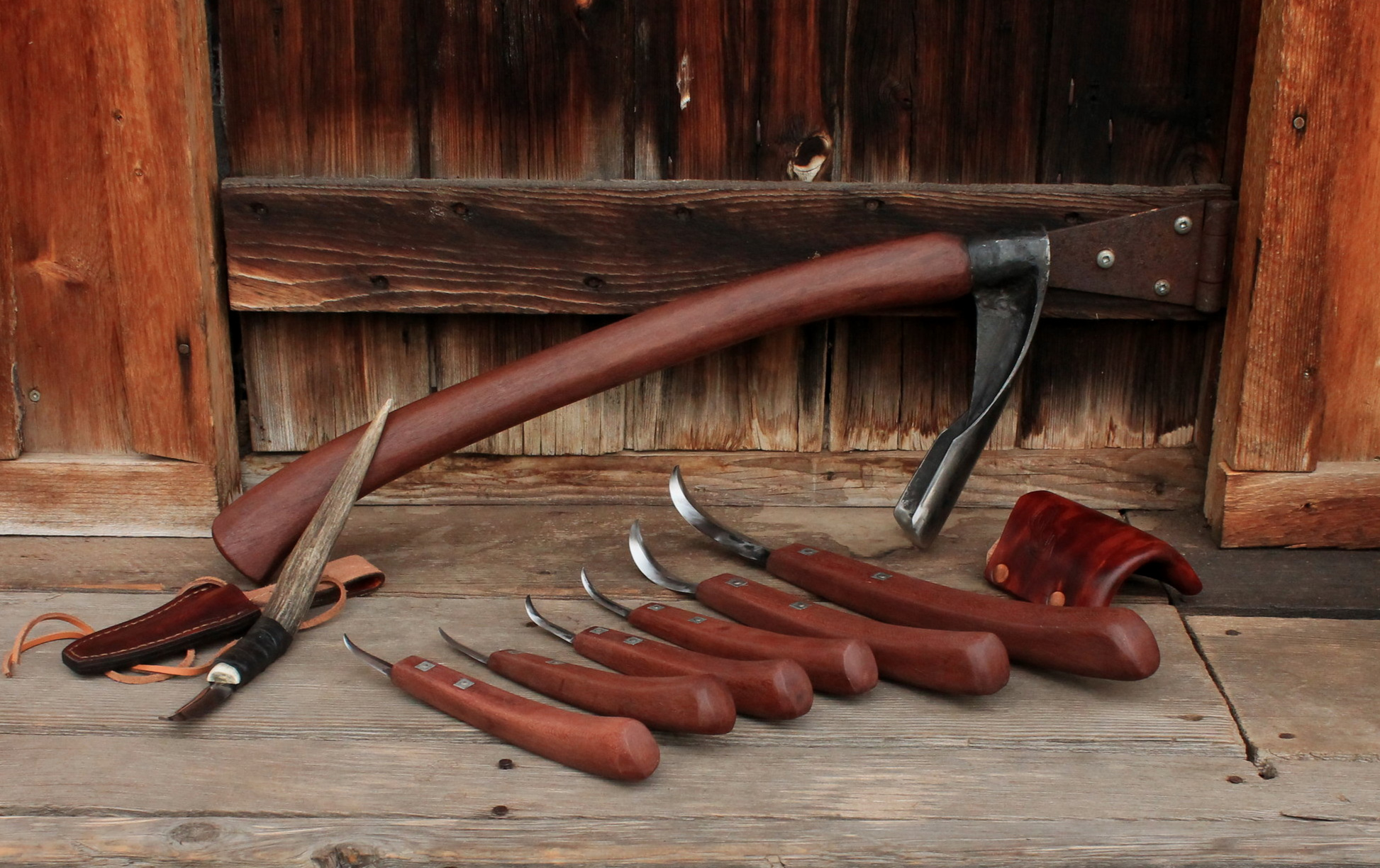 Custom Made Professional Wood Carving Set