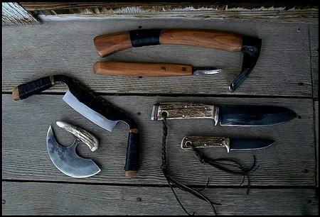 Bushcraft edge tools. Handmade, hand forged and custom.