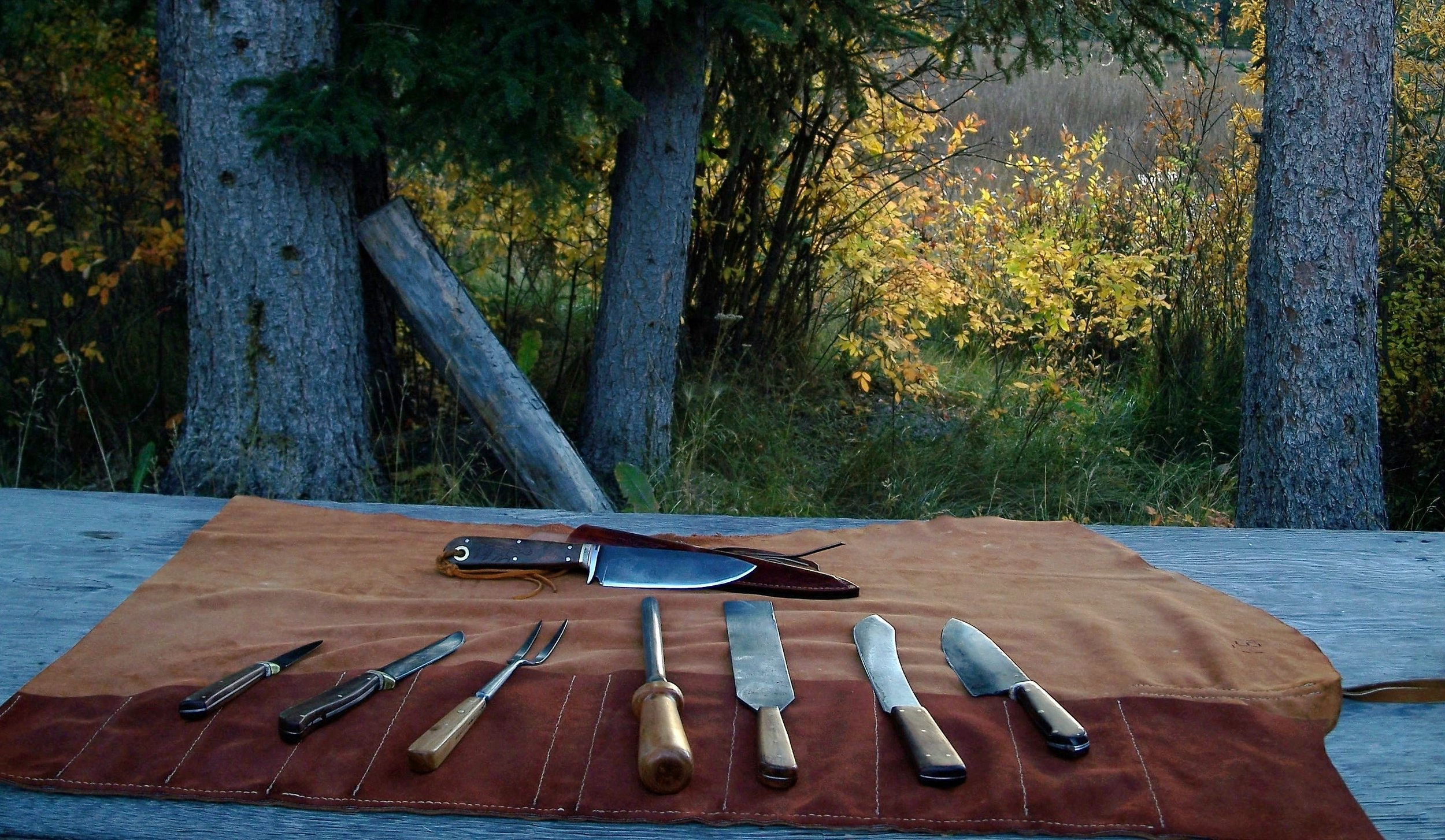 Camp Hunting and Butcher Knives