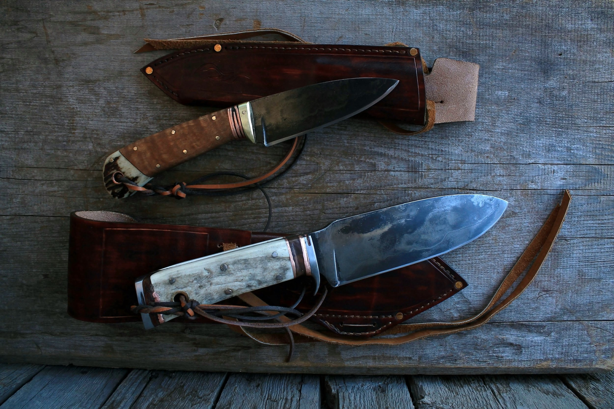 Hunting Knives Set for Big Game