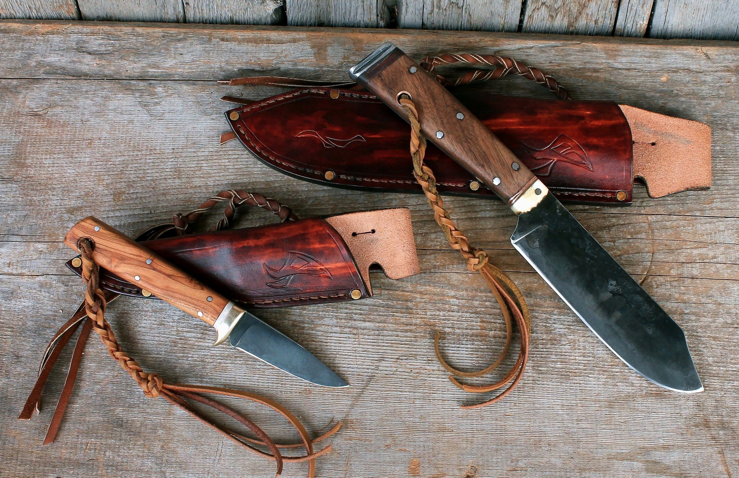 Bushcraft Knives Set