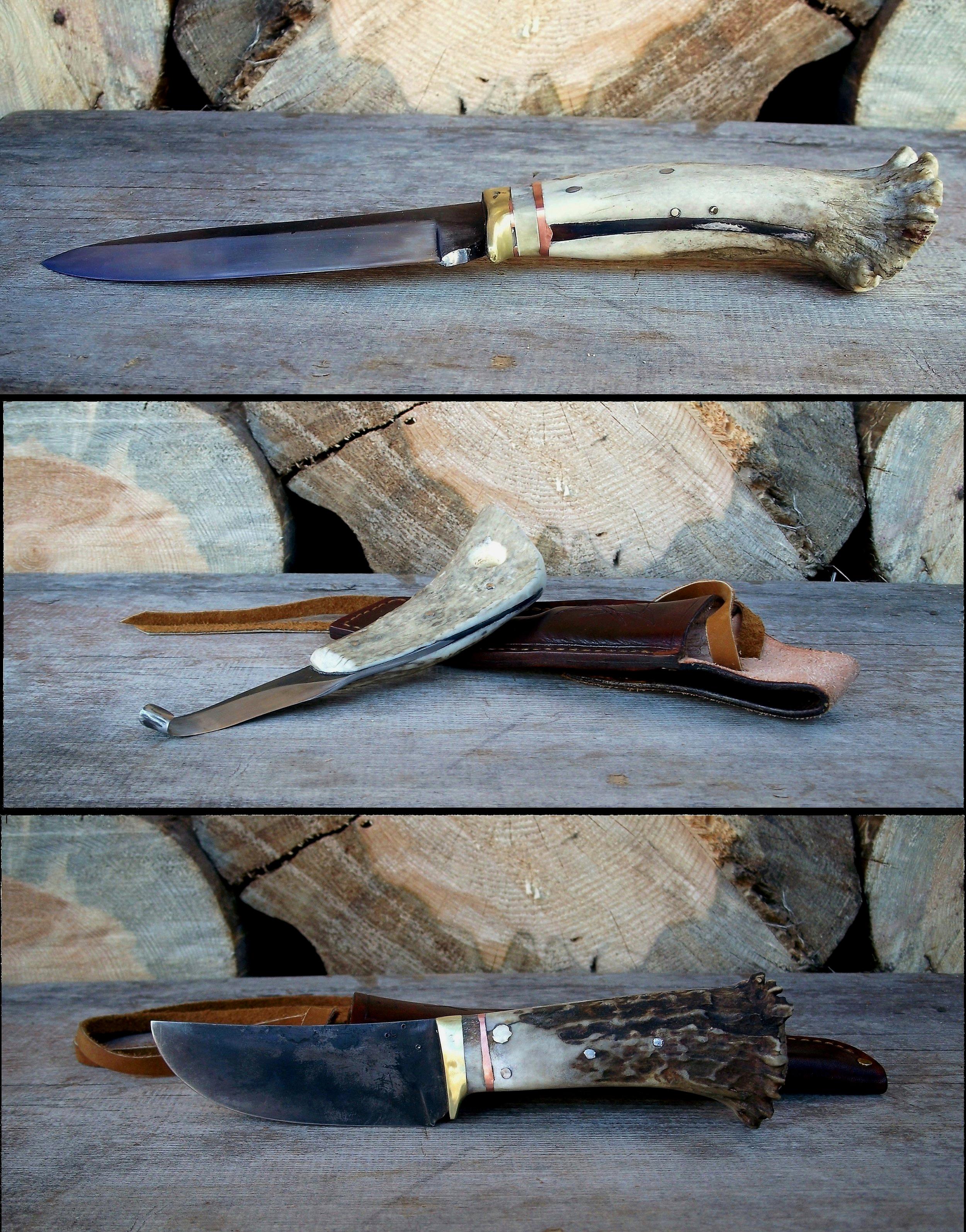 Horseback Hunting Knives Set