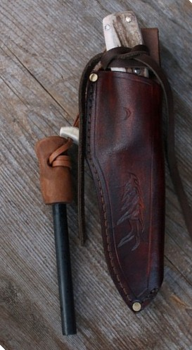 Custom belt sheath