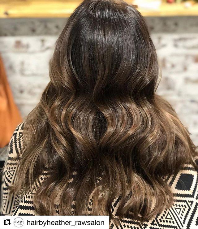 #Repost @hairbyheather_rawsalon with @get_repost ・・・ •••🍂Subtle change for fall 🍂••• #balayage #subtlebalayage #richwarmtonesforfall #hairbyheather #rawsalon #kevinmurphyhair #schwarzkopf #redkenshadeseq