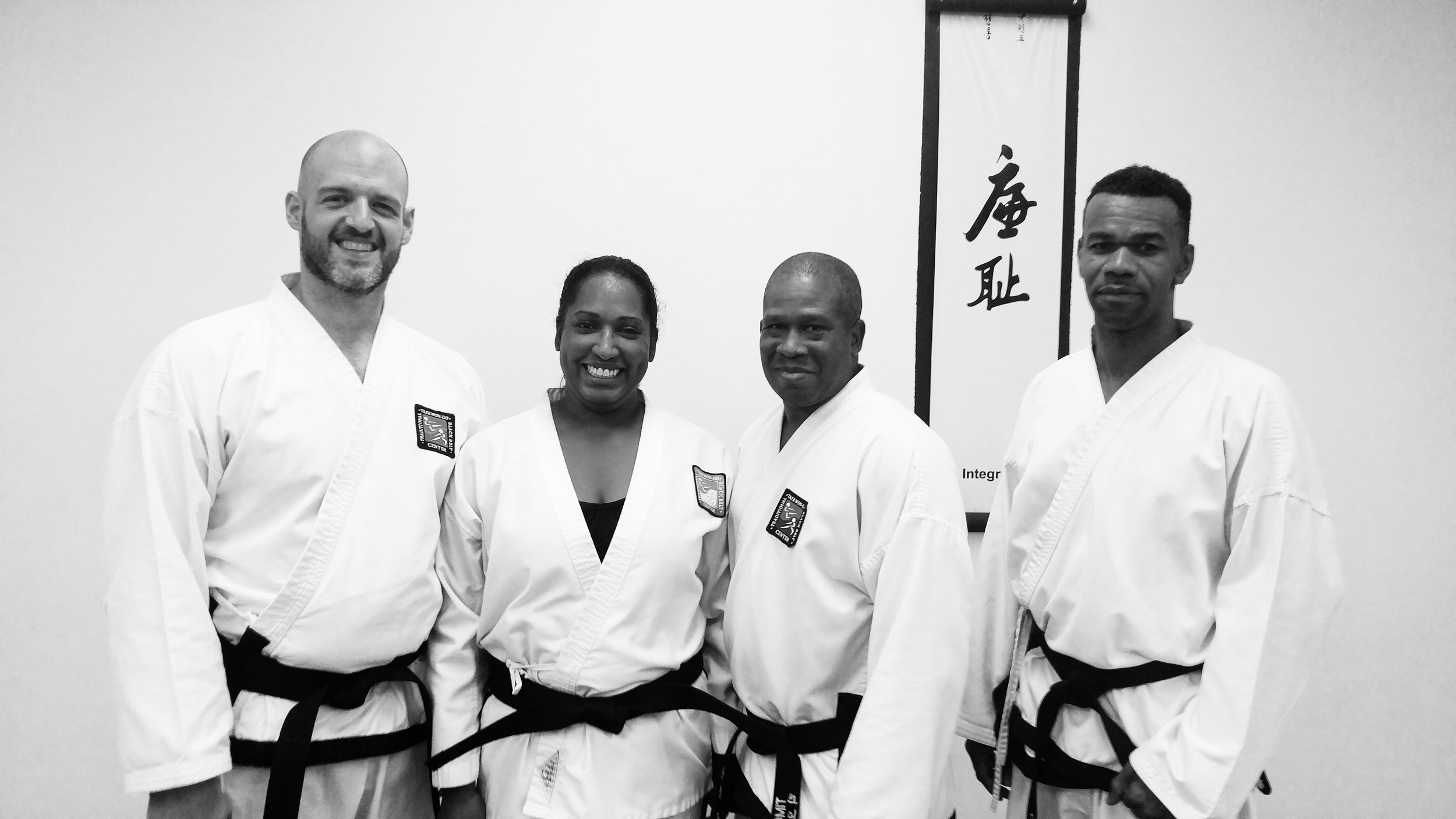 Carlos Rodriguez (Master Instructor), Tania Marballie (Owner/Instructor), Timothy West (Assistant Instructor), Calvin Salomon (Assistant Instructor)