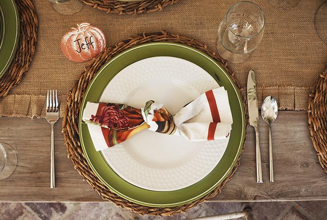 Table setting rentals, Harvesting Memories