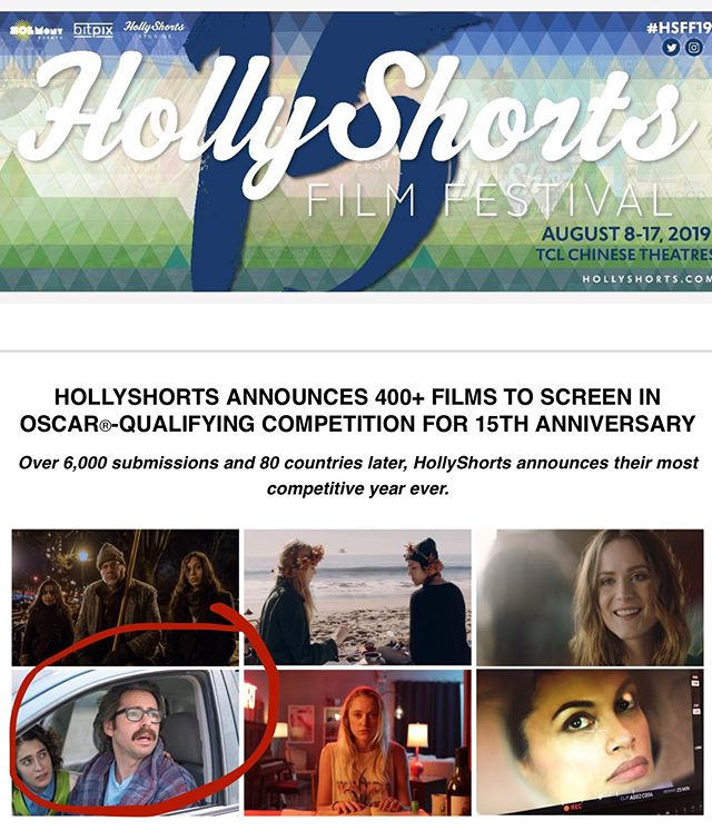 We will screen @hollyshorts on August 16th at 10pm at the TCL Chinese Theatre Hollywood. Their press release says we're a stand-out film, and we don't mind that at all. Thanks #HSFF19! Head to their website for tickets. #TheTollRoad