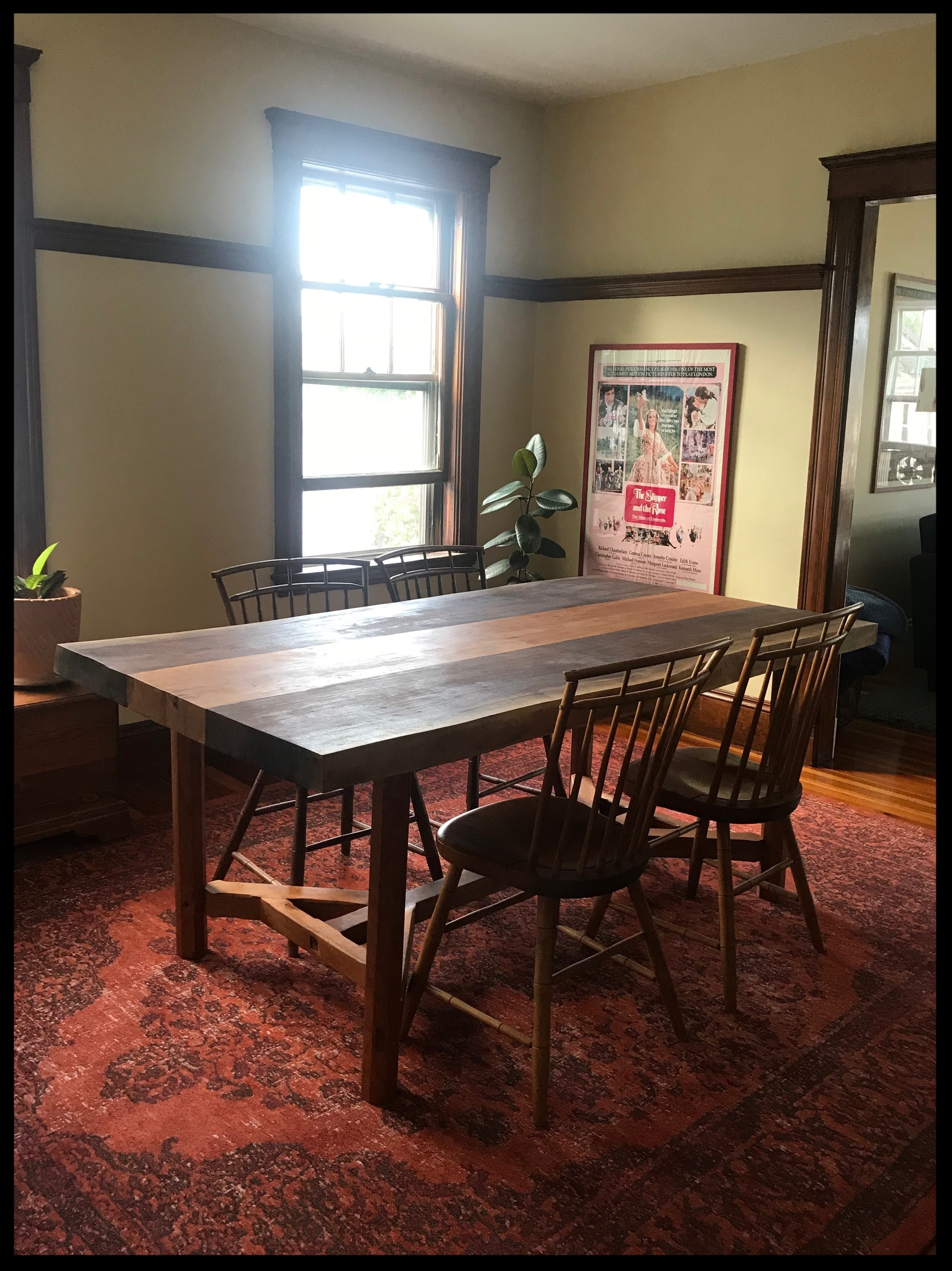 Hayrake Table in Anna's Dining Room