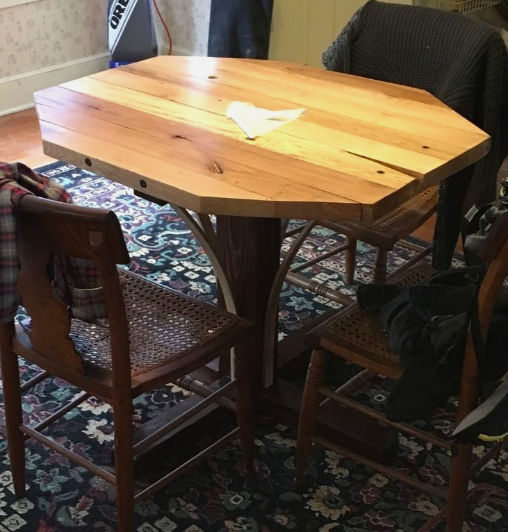 - Rustic Breakfast Nook Dining Table From Reclaimed Wood