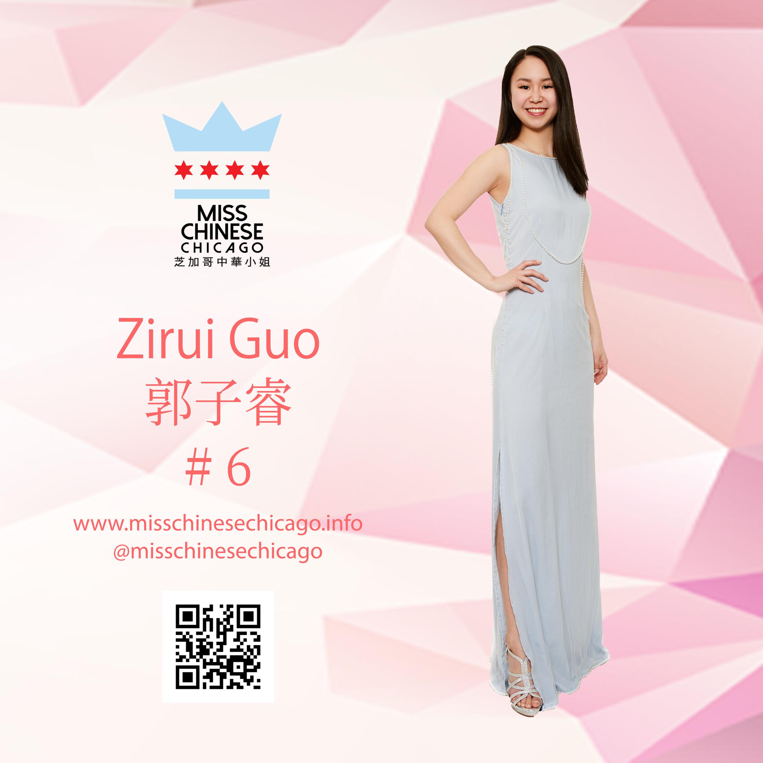 Zirui Guo 2019 Contestant