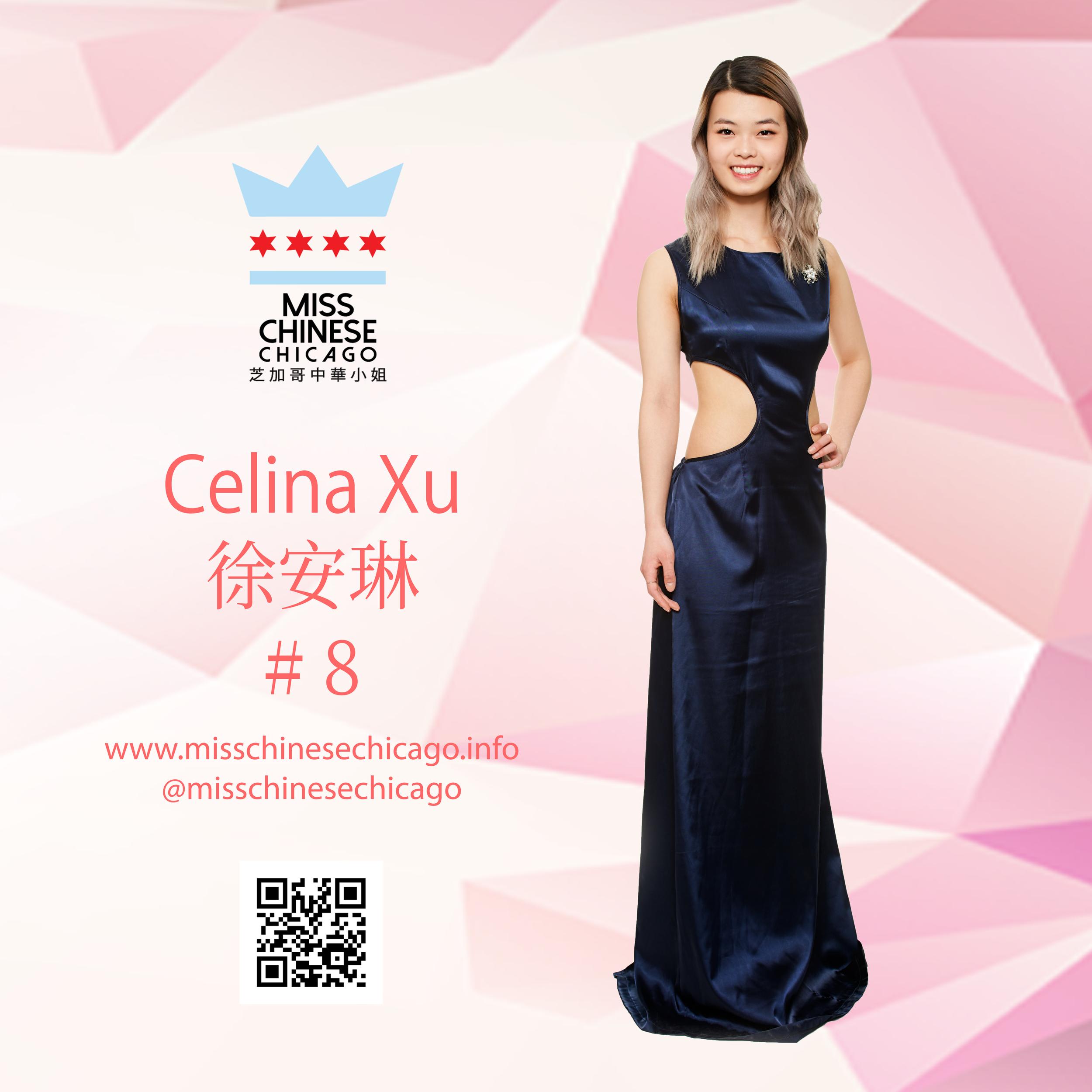 Celina Xu 2019 Contestant