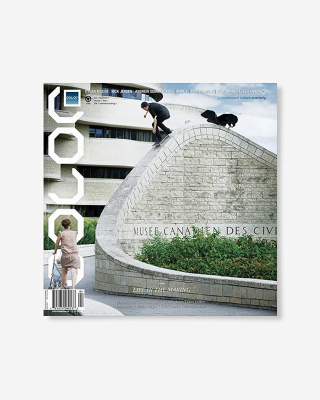 "Volume 9, Number 4 (autumn 2011) Featuring Dylan Rieder, Nick Jensen, Scott Bourne, Mark Oblow, Dennis Busenitz+  144pp glossy, matte, and uncoated FSC Certified 70lb recycled text pages 9.75 x 9.75"" with 4pp 110lb cover printed in Canada using vegetable based inks. 🔗Link in bio👈 . . . . #color9point4 #colormagazine #skateordiy #restinprint #colormag #colorrip #skateboarding #art #fashion #style #film #music #skateculture #skateboardingculture #skateboardculture #skateart #canada #vancouver #sandrogrison #saracwynar #donbolles #samlind #dylanrieder #volcomcanada #drewsummersides"