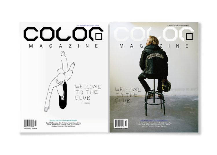 Color Magazine  , Vol.8, No.3 (2010) illustration by Geoff McFetridge