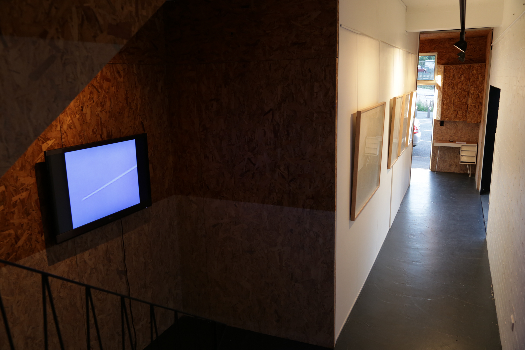 Documentation of  Snow is Flesh  exhibition at A-CH Gallery.  Photograph by Lynette Letic.