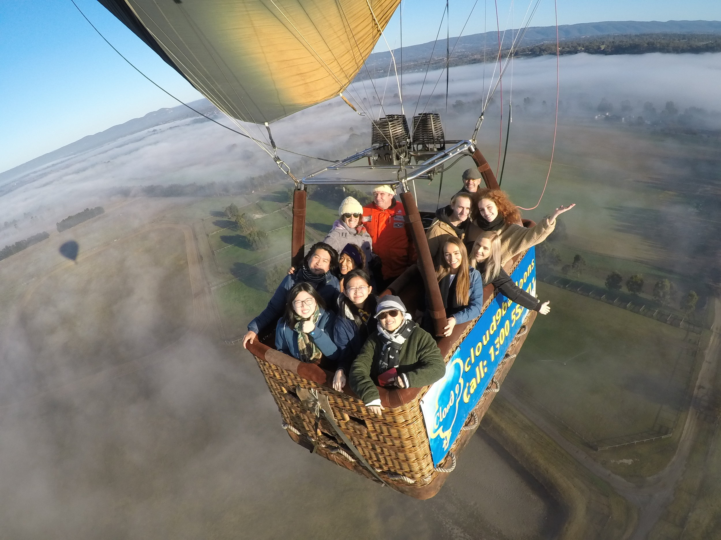 Whatever the occasion, a balloon flight makes a great gift