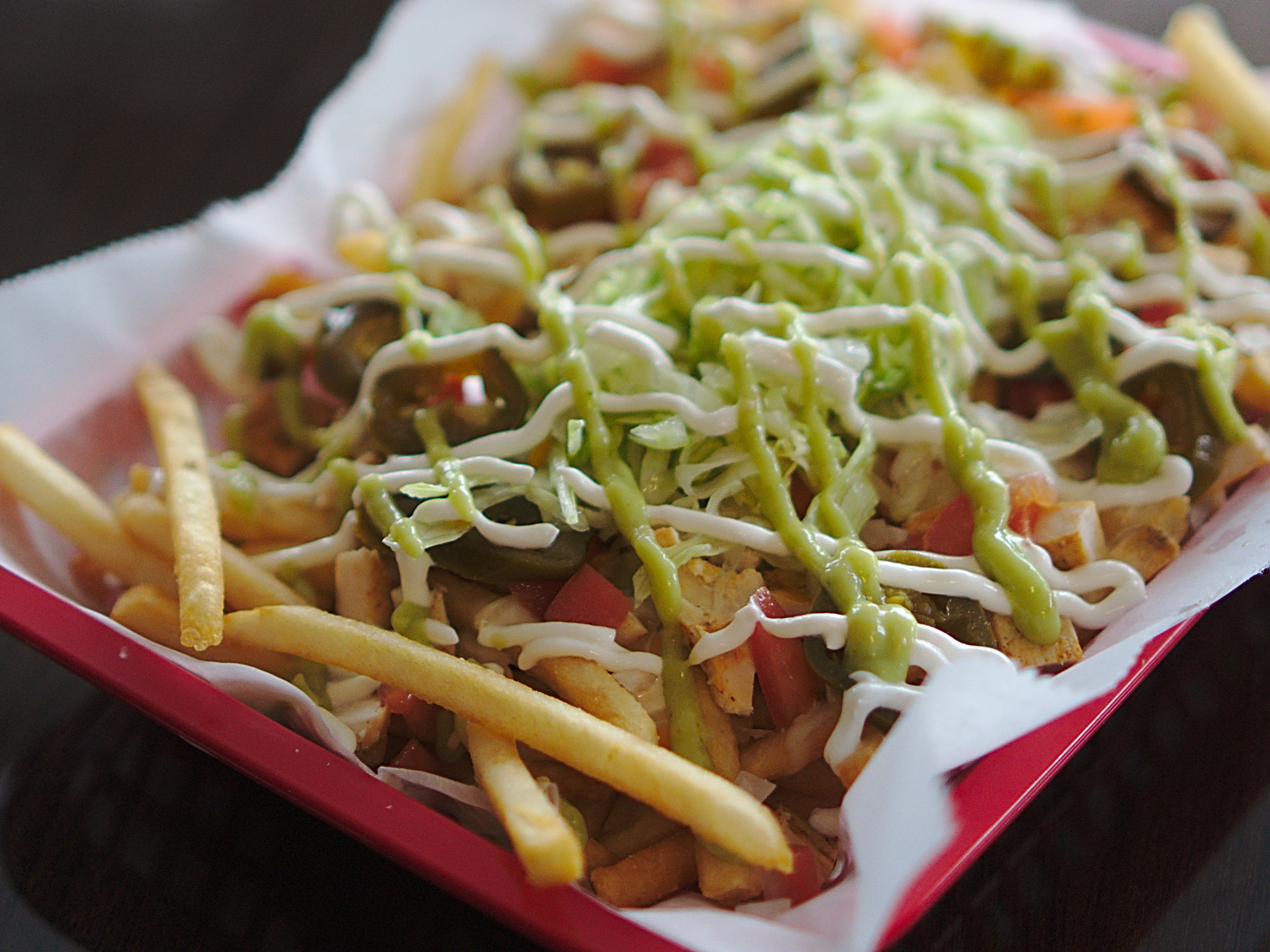 Chicken Queso Fries