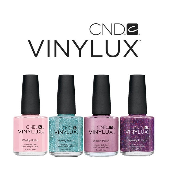 Vinylux- nail polish - Choose from a wide range of colours in our vinylux collection to complete your in salon manicure or pedicure. The polishes consists of an all-in-one base and color coat and a top coat, used together for ultimate performance.