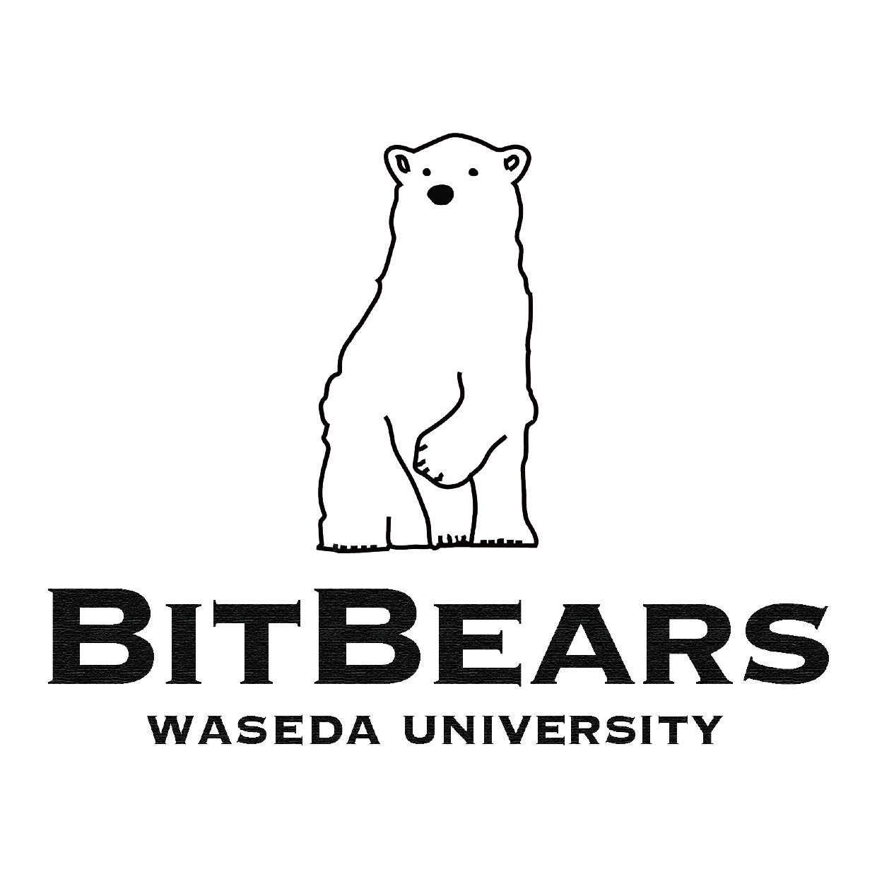 BitBears waseda university ロゴ