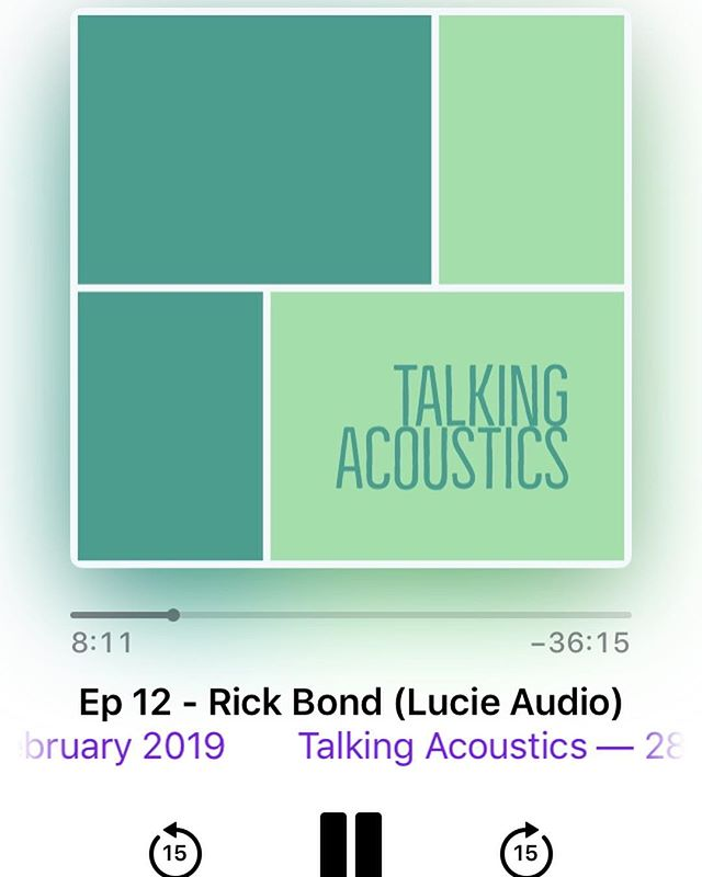 I recently had the opportunity to sit down with Matthew Ottley from the Talking Acoustics podcast, to explain the whys and wherefores of Lucie Audio. If you have even a passing interest in acoustics, you'll love his show. During his work for acoustic consultants Marshall Day, Matthew has met many luminaries of the industry to discuss their life's work and passion, so I was beyond thrilled that he made time to come and see me! My personal favourite episodes are his interviews with Peter Knowland, Gillian Lee, Glenn Leembruggen, Trevor Gore, John Meyer and Jos Mulder, with topics ranging from acoustic principles in design of the world's great concert halls, to the modal vibrations of guitar strings. Thanks to Matthew for dropping by!  You can find his podcast by searching 'talking acoustics' on Apple Podcasts, or stream it from talkingacoustics.podbean.com.