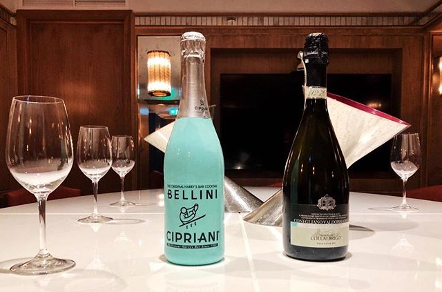 Our Prosecco DOCG Extra Dry and @cipriani Bellini are now available in store at Harrods! . #proseccocollalbrigo #bellinicipriani #harrodslondon