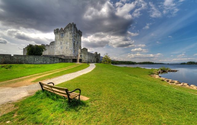 Ross Castle has been looking particularly beautiful in the spring sunshine hasn't it?  http://bit.ly/BritishandIrish  #RossCastle #Ireland #spring #sunshine#KillarneyNationalPark #irishcountryside #theoutdoors #countrysidewalk #walkinguk #walkingholidays #walkingtour #theoutdoors #countryair #peaceandquiet #natureatitsfinest #freedomtotravel #hikingtour #getoutdoorsmore #countrysidephotography #theemeraldisle #walkingtheworld #walkingaroundtheworld #hikinglifestyle #hiking_daily #irelandtravel #ireland_travel #ireland_insta #irelanddaily #irelandphotography