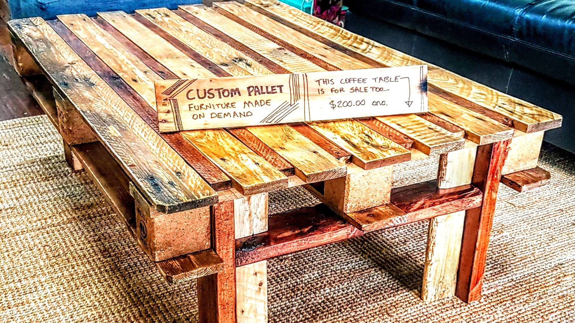 Custom Furniture/Lighting - Furniture design and making things out of upcycled items is one of my passions.