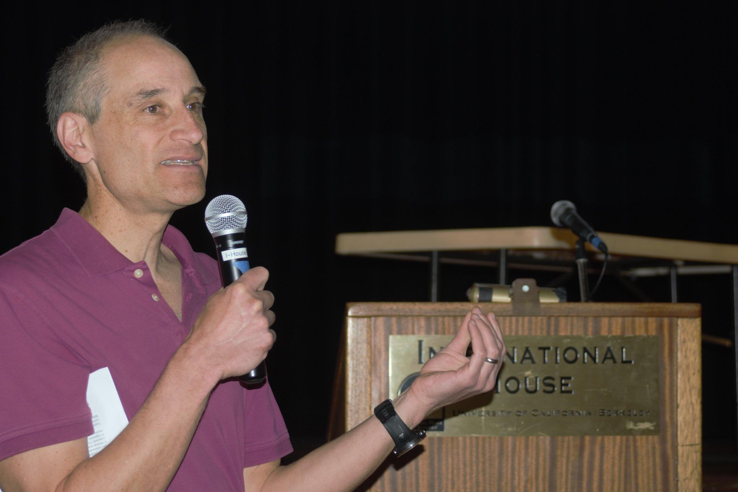 Jason Patent (UCB) facilitating the session on culture shock