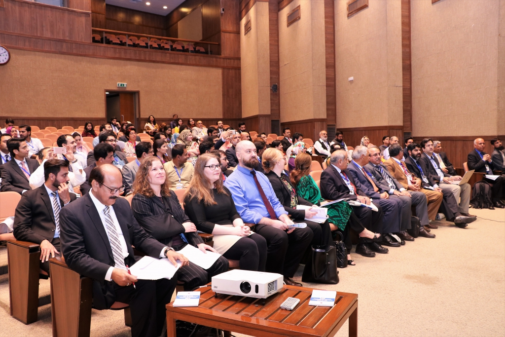 More than 150 alumni and guests gathered at IBA to attend the conference.