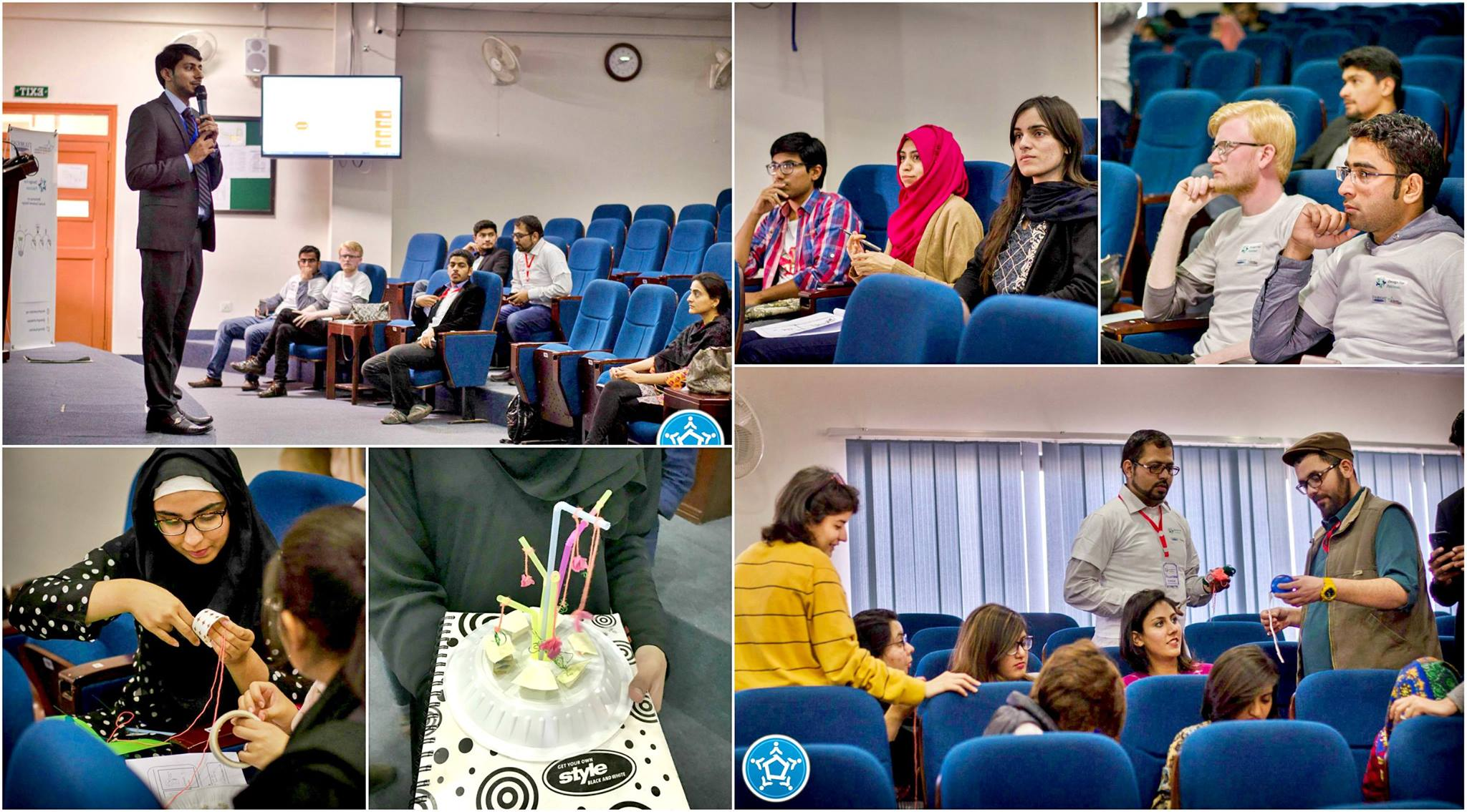 "Ahsaan's ""Design Thinking Workshop"" at the National University of Sciences & Technology (NUST), Islamabad. Photo Credit: NUST"
