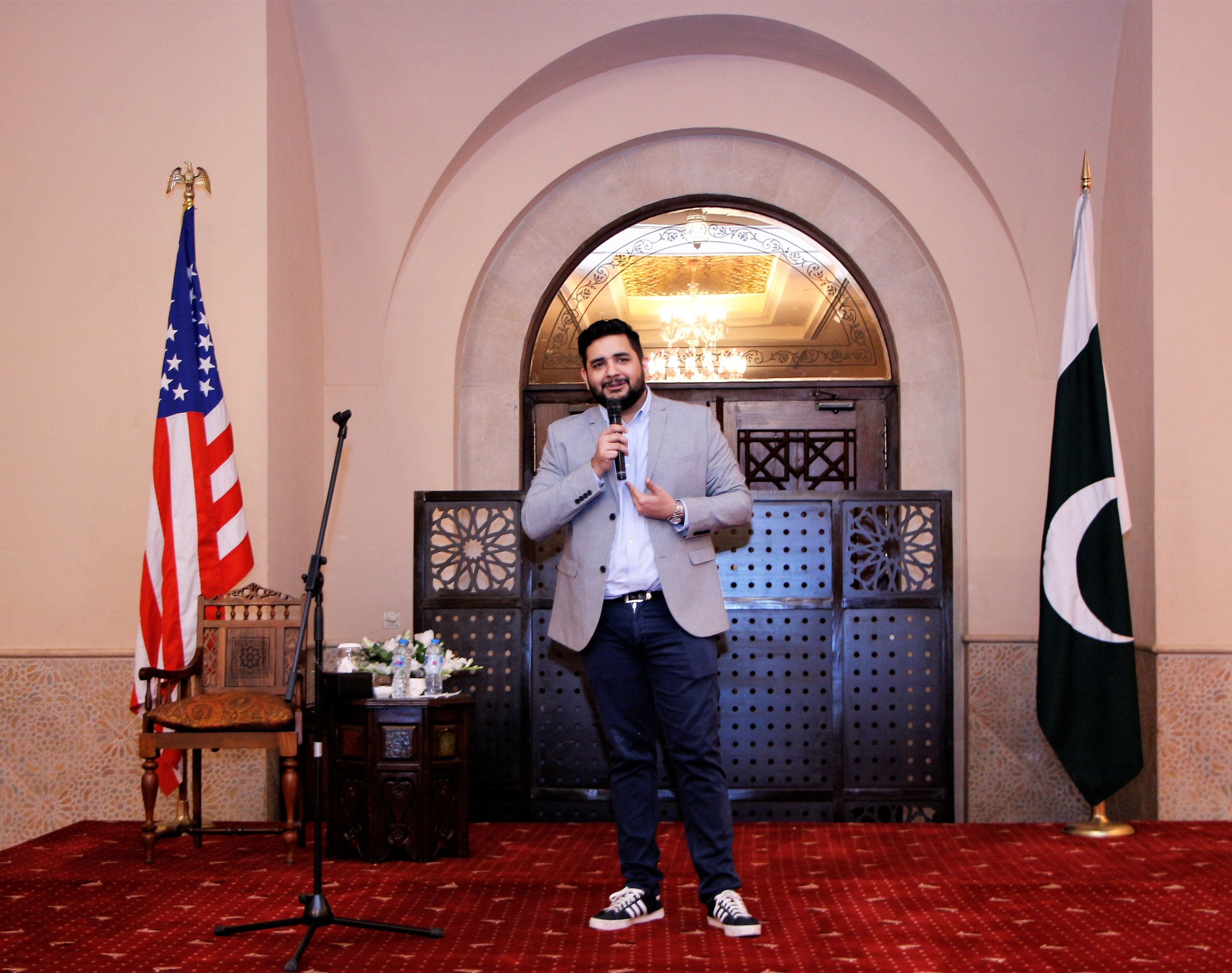 Stand - up comedy - Fulbright alumnus Shehzad Ghias is in the house!!