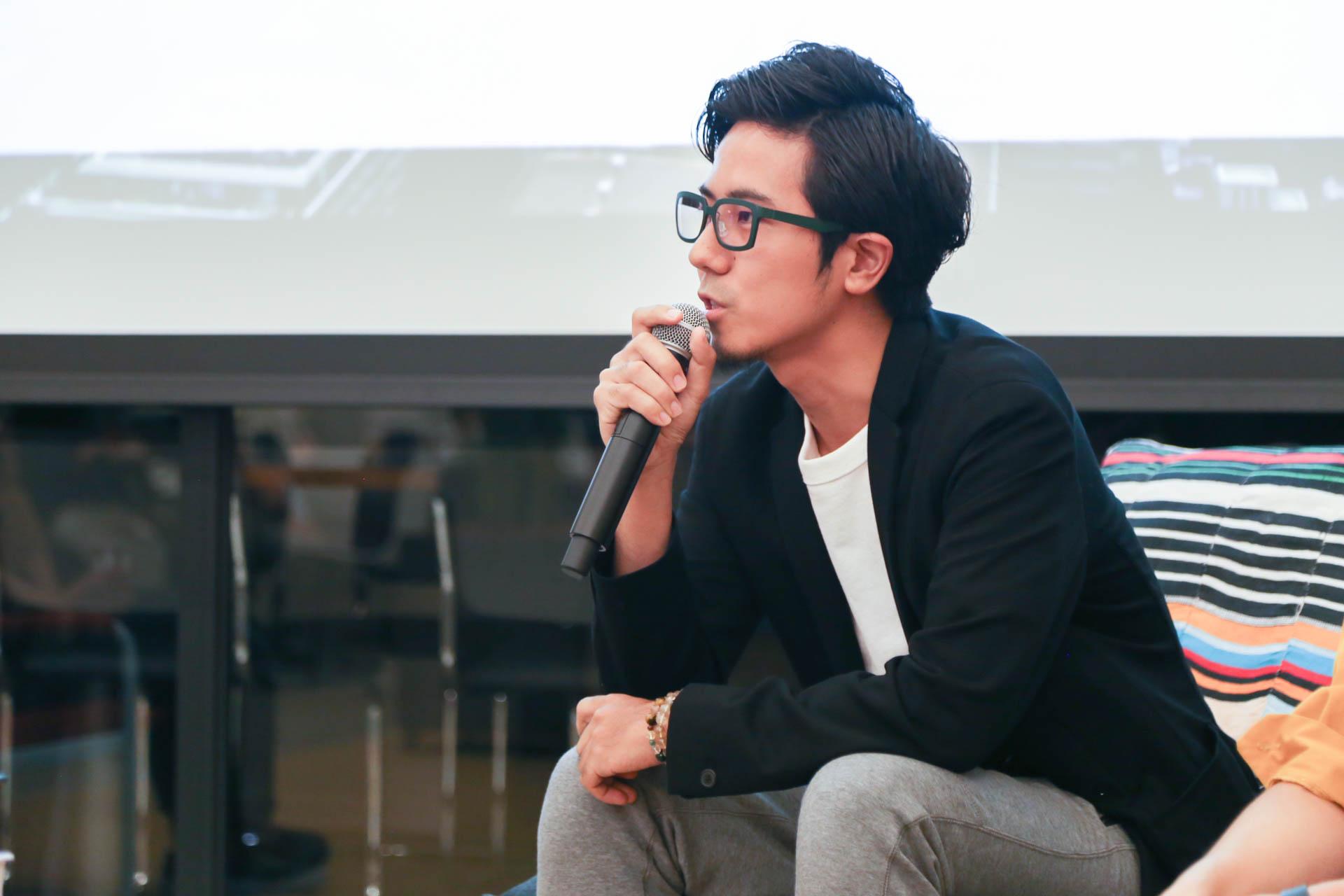 青木英佑さん (株式会社CACTAS 代表取締役CEO)