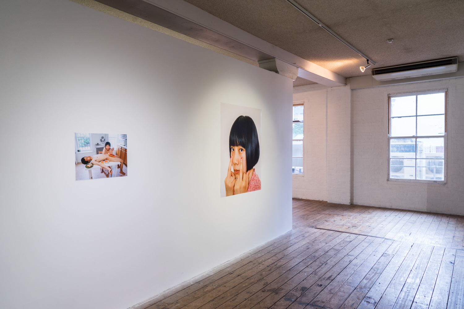 Pixy Liao, various work, installation view,  Disobedient Daughters,  2018, Metro Arts, Brisbane. Photo: Louis Lim.