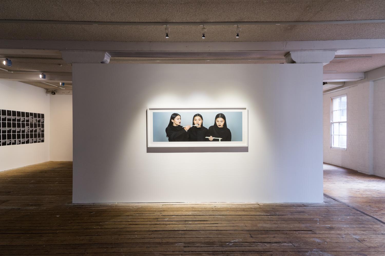 Gwang Tung Dorothy Lau,  Para-Selves #3,  2016, installation view,  Disobedient Daughters,  2018, Metro Arts, Brisbane. Photo: Louis Lim.
