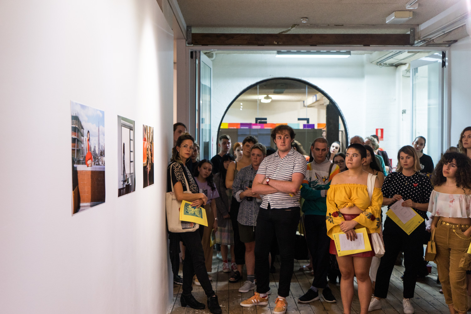Artist talks,  Disobedient Daughters,  2018, Metro Arts, Brisbane. Photo: Louis Lim.