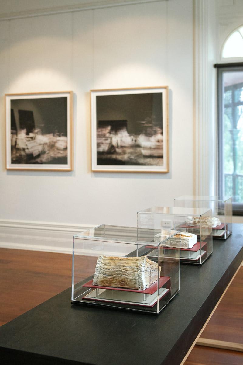 Cyrus Tang, installation view,  Closing the Distance,  2017, Bundoora Homestead Art Centre. Photo: Nicola Dracoulis.