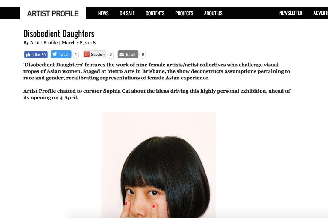 Artist Profile -