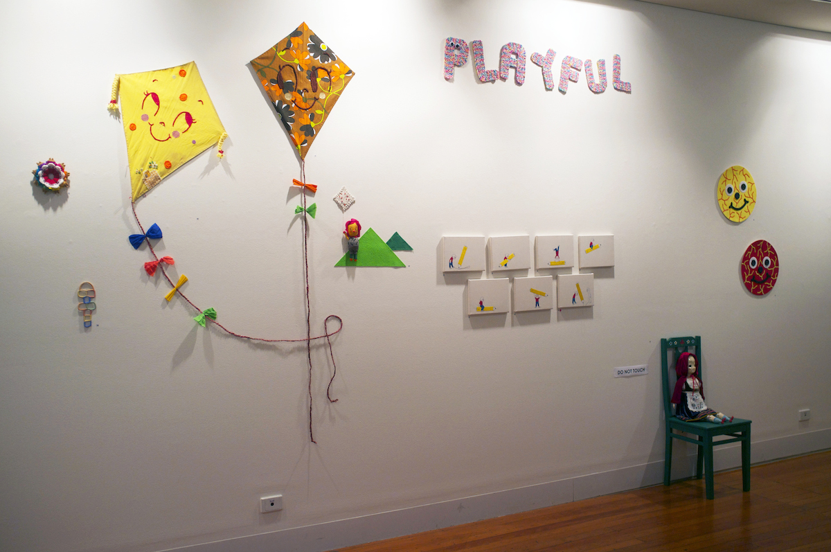 Install view,  Playful,  2016, City Library
