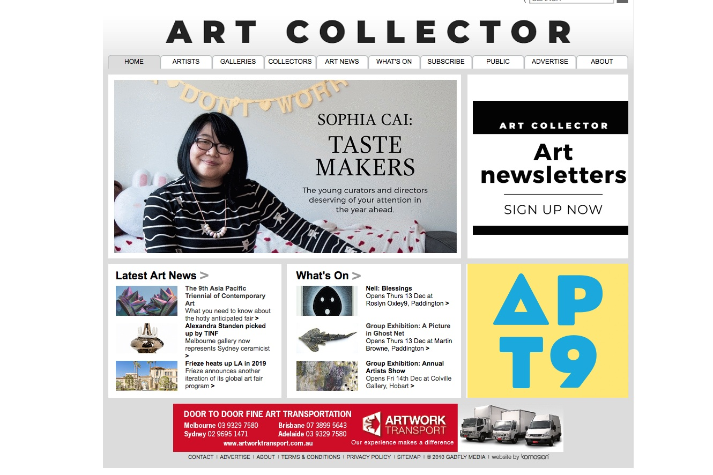 Art Collector Magazine -