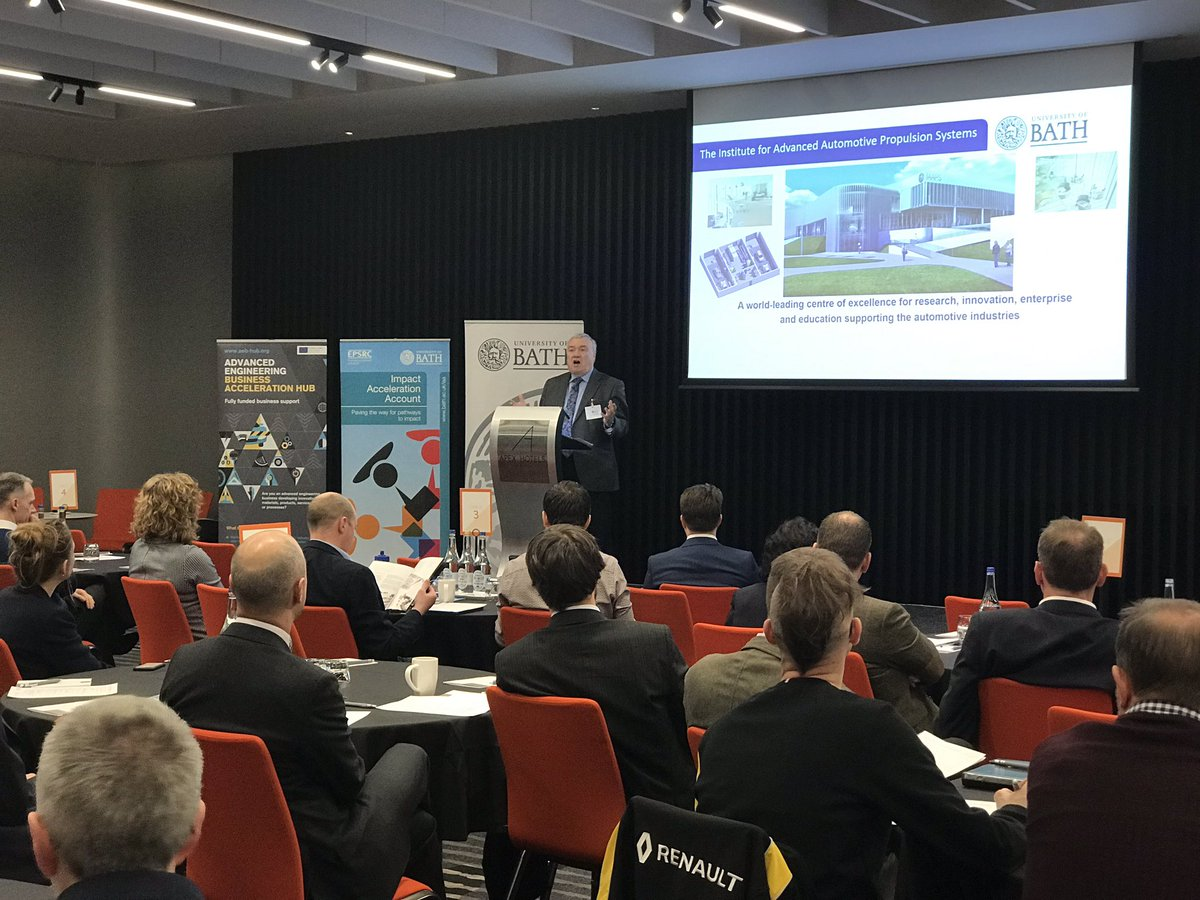 Professor Gary Hawley Dean of Engineering & Design at the University of Bath gives an overview of the University's forthcoming Institute of Advanced Automotive Propulsion Systems (IAAPS)