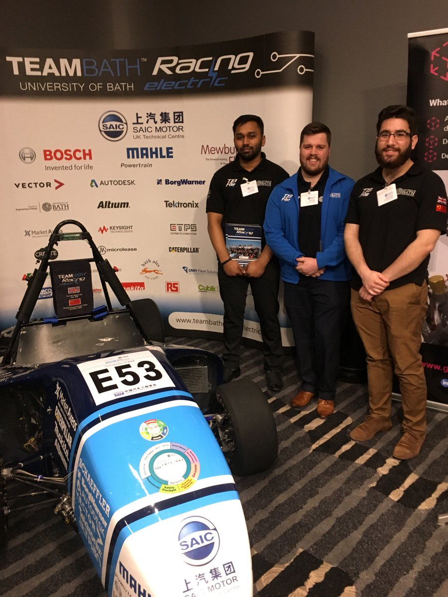 Team Bath Racing Electric (TBRe) 2018's racing car