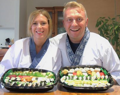 'Narihito & Yoshie thank you so much for helping us understand and  make sushi. We spent a fantastic few hours in your company and the  family loved all the sushi you helped us produce. I would recommend this  to all - a great time had in a relaxed environment...Best regards  Richard and Hayley'