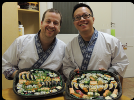 """""""We had an amazing afternoon learning how to make proper sushi and  tempura from real experts. Before we came to the class we didn't have  the confidence to try this at home, but we definitely do now after three  hours of expert tuition. Our friends who joined us for dinner  afterwards to eat all the amazing sushi we had made were genuinely  surprised at the level and quality of the food. We were made to feel  very welcome by Nari and Yoshie from the moment we walked in. They were  very patient, taking time to explain everything very clearly. We would  highly recommend this course to anyone who has an interest in learning  about making sushi."""""""