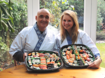 """My step-dad and I did the sushi course as one of my 18th birthday  presents, and it is definitely one of my favourite presents that I have  ever received! We learnt about everything we have always wanted to know  about sushi, Nari and Yoshie are true experts, and make each stage  really fun. The course is packed with fun facts, tips and treats, I  really couldn't fault it, it has been planned to perfection. It's even  topped off with a delicious tray of sushi artwork that the whole family  enjoyed (even those who aren't normally sushi lovers!) and a goody bag  with useful equipment and ingredients. I would recommend the course to  anyone! """